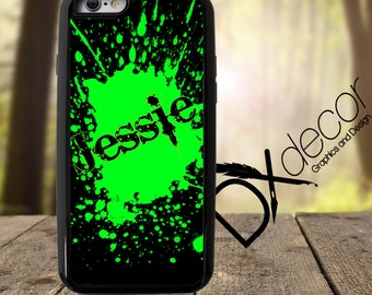 Paint Splatter with name, Photo Collage Case, Photo Iphone case, Photo Case, Photo Iphone Cover, iphone 5s, iphone background