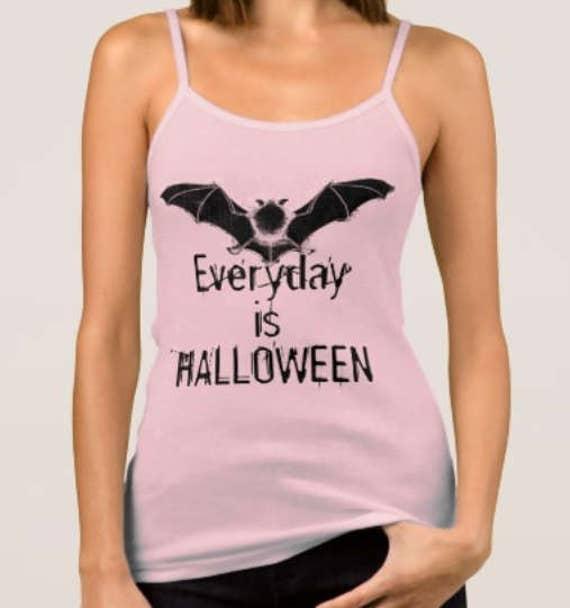 Everyday is Halloween Vampire Bat Tank