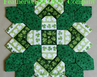 Patchwork of the Crosses - St. Patrick's Day Block kit# 03