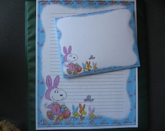 Easter snoopy writing paper with envelopes