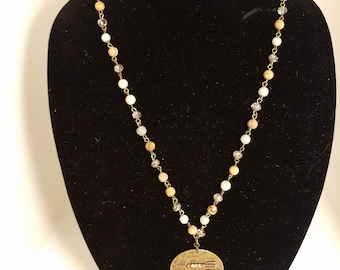 Necklace - Crystal Rosary