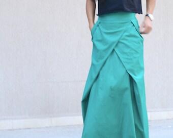 Long skirt, high waisted skirts, floor length skirt, maxi cotton skirt, trendy skirt, maxi skirts long, long skirt for women, taffeta skirt