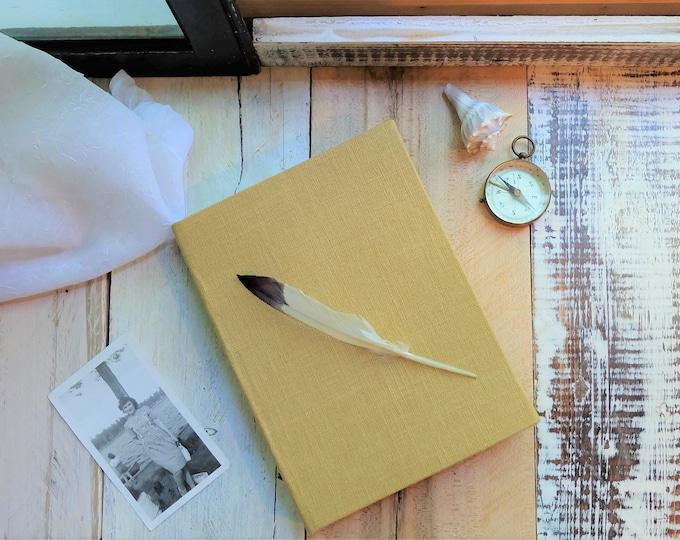 """Linen Journal in """"Sea Oats"""""""