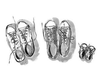 Art print: Shoes