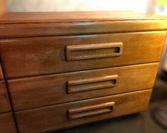 Russel Wright American Modern 3 Drawer Dresser