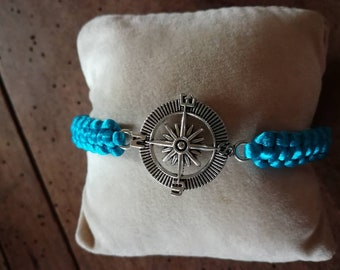 Compass rose bracelet