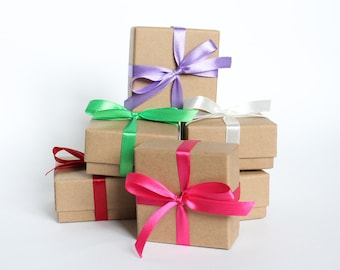 Kraft Gift Box with Insert