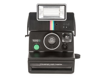 Polaroid Land Camera 1000S with Q-Light - Film Tested - Working - Vintage 80s Rare Instant Camera