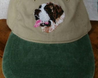 St. Bernard baseball style hat