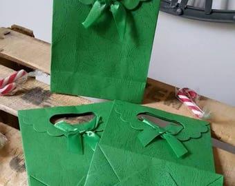 1 x green 17x12x6cm gift box