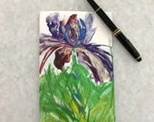 Alcohol ink and Encaustic...