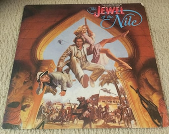 The Jewel of the Nile Original motion picture Soundtrack Vinyl Record LP