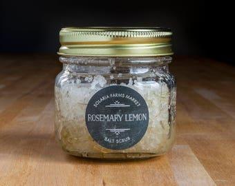 Rosemary Lemon Salt Scrub