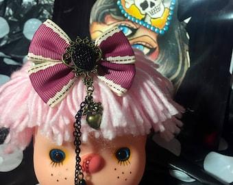 Lolita Bow Hair Clip