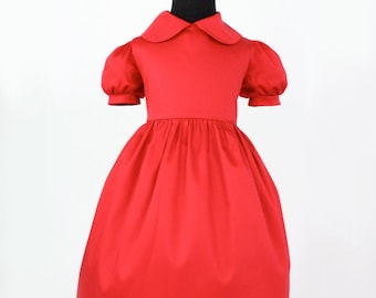Special Occasion Girl's Red Dress