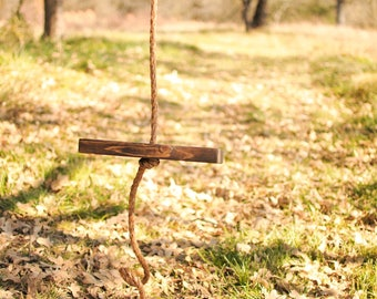 Single Rope Tree Swing