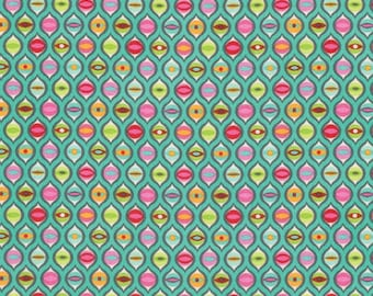 Tula Pink - Tabby Road - Cat Eyes - Strawberry Cooler (PWTP095.STRAW) - 1/2 Yard++