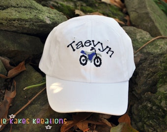 Kids Baseball Cap - Kids Baseball Hat - Baseball Hat - Personalized Baseball Hat - Baseball Cap - Monogrammed Hat - Monogram - Youth Size
