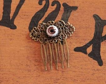 Eye Bronze hair comb