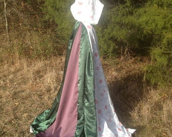 Handmade Youth's Reversible Hooded Cloak/Cape