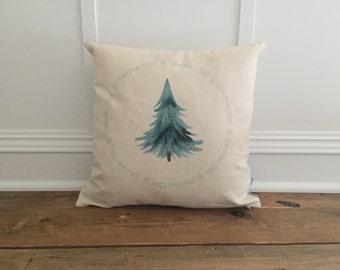 O Christmas Tree Pillow Cover
