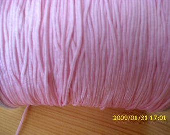 5 meters of nylon thread for shamballa 1 mm pink