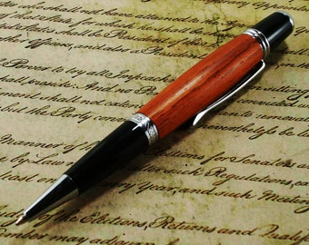 Sirari Wood Pen - Classica Style with Chrome Finish