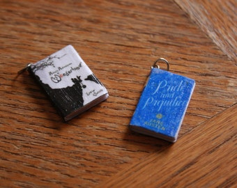 Custom Mini Book Charm