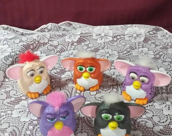 Vintage furies. Made for McDonald's kid's meals. Set of 5