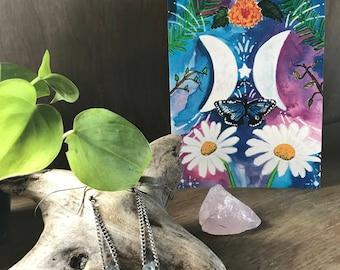 My Moon Zodiac: Gemini Greeting Card