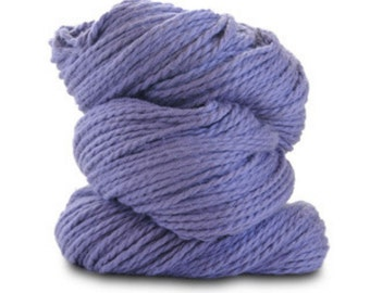 Organic Cotton Yarn Worsted, 150 Yards, Thistle