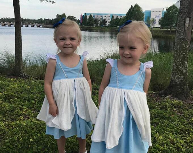 Princess Aurora Hattie Tutu Dress Birthday Photo Prop Vacation Baby Toddler Girls Dress