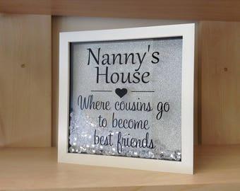 Memory Box Frame Christmas Birthday Gift Grandma Gran Granny Nan Nanny Nanna