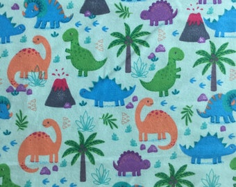 Teal Dinosaur Weighted Blanket. Pick your Size, Weight, and Color. 2, 3, 4, 5, 6, 7, 8, 9, 10, 11, 12, 13, 14, or 15 pounds..FREE SHIPPING!!