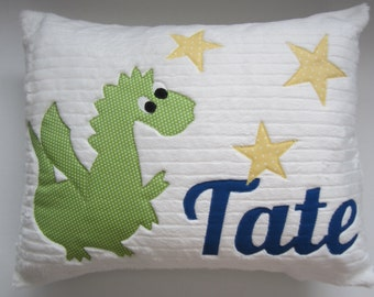 Dragon in the Stars Pillow