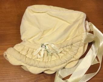 50s Baby Bonnet 0-9 Months