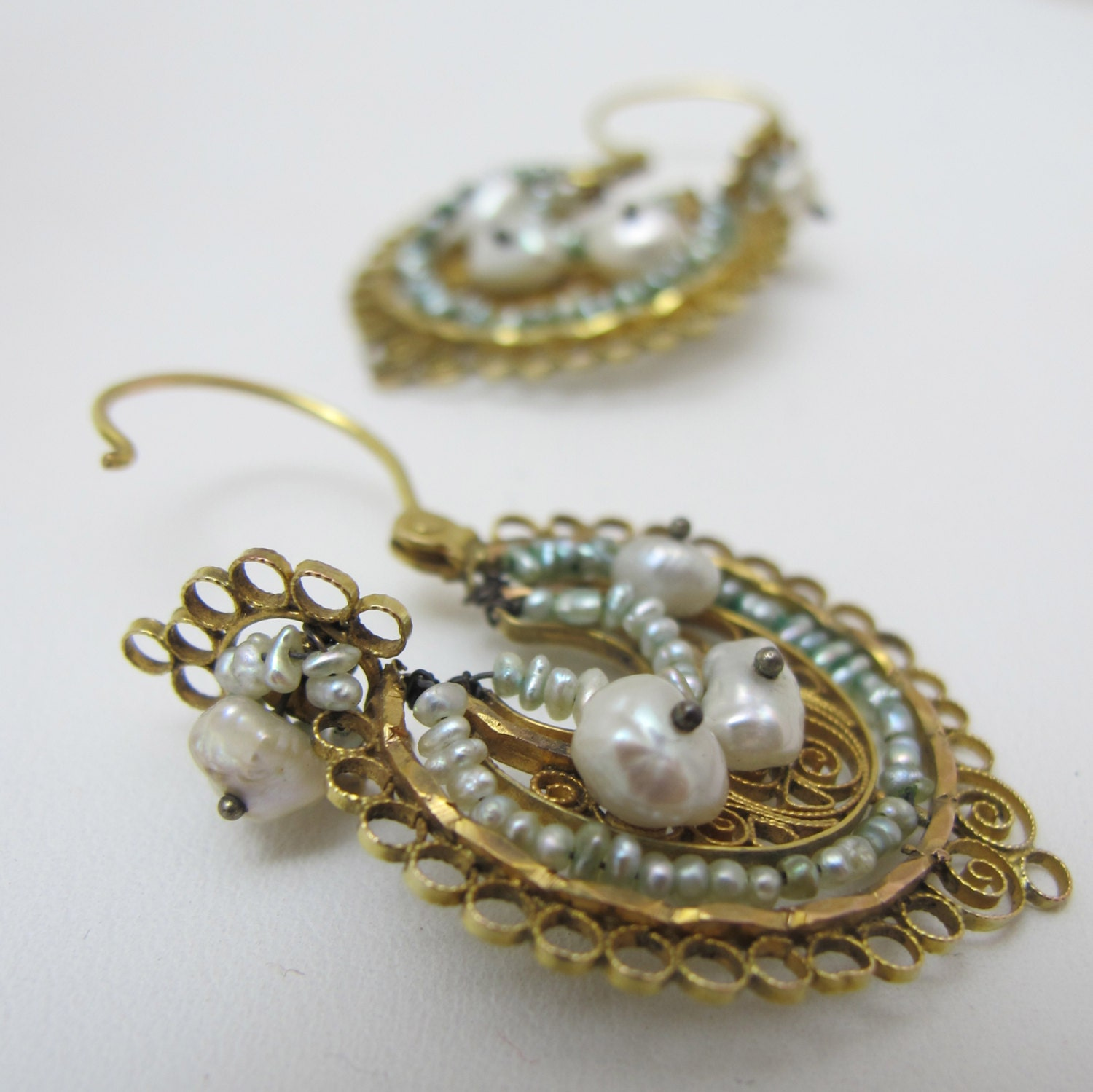 or lv pacific po filigree gold and opal in popesco earrings silver shown catherine crystal