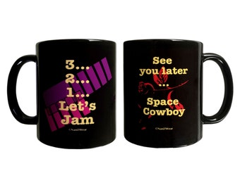 Cowboy Bebop Double-Sided 11oz Ceramic Coffee Mug: See You Later Space Cowboy