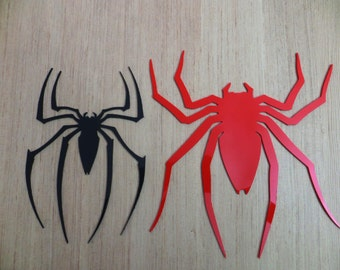 Logos spiders Spider front and Rear Spiderman Raimi Trilogy