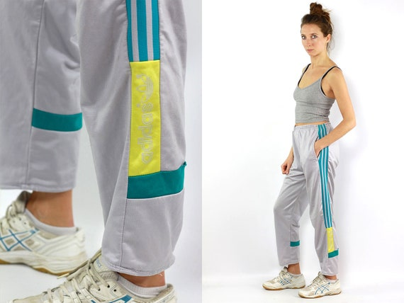 Sweat Pants Adidas Pants Track Pants Adidas Track Pants Grey Sweat Pants Vintage Track Pants Vintage Adidas Sweats Pants 90s Track Pants