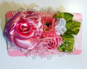 Beautiful headband pink
