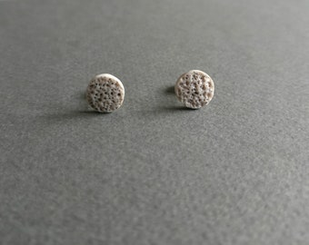 The Moon 1. Stud earrings.