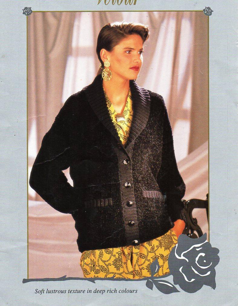 Womens jacket knitting pattern pdf download ladies cardigan shawl ...