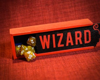 Dungeons and Dragons Inspired RPG Wizard Dice Box//rpg//rpggifts//warhammer//callofcthulhu//magicthegathering