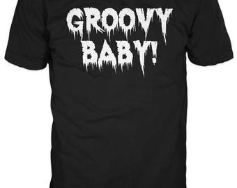 Groovy Baby T-Shirt - Inspired by Austin Powers