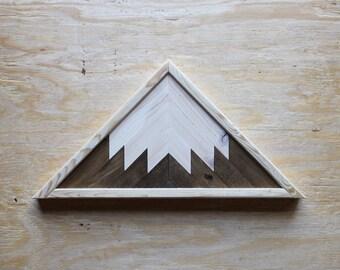Geometric Triangle Mountain