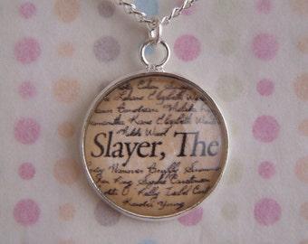 "Buffy The Vampire Slayer ""Slayer, The"" Necklace"