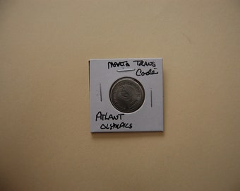 Marta Transit Co.  -Rare    Olympics Transit Token- Vintage Coin--1990.s---See Pic