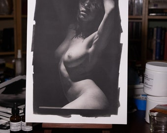 Platinum/Palladium Print: Melancholic No. 1891 8x12