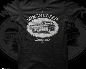 Winchester Auto - Supernatural - Impala t shirt